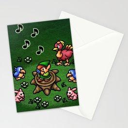 Flute Boy Stationery Cards