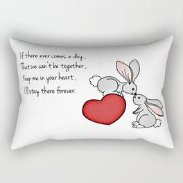 Snuggle Bunnies Rectangular Pillow