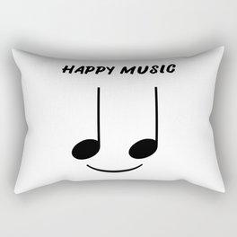 Happy Music Rectangular Pillow