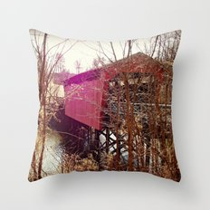 Seeing The Light Through A Brief Darkness  Throw Pillow