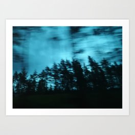 Dark Woods I Art Print