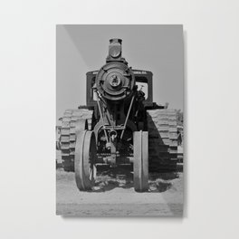 Avery Antique Tractor Metal Print