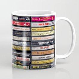 Old 80's & 90's Hip Hop Tapes Coffee Mug