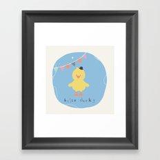 Dennis Duck Framed Art Print