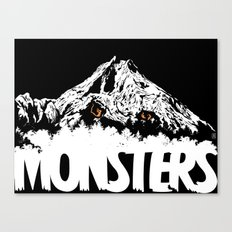 Monsters ( The Living Mountain ) Canvas Print