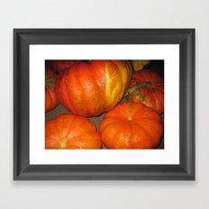 Cinderella Pumpkin Framed Art Print