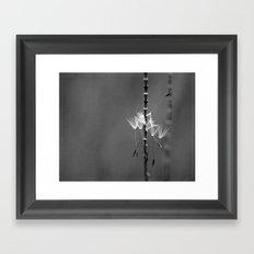 tiny acrobats Framed Art Print