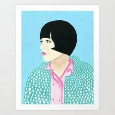 Anna Art Print