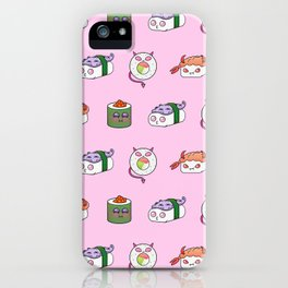 SUSHI PATTERN iPhone Case