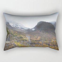 Going to the Sun Road Rectangular Pillow