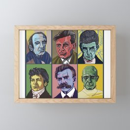 Thinkers Framed Mini Art Print