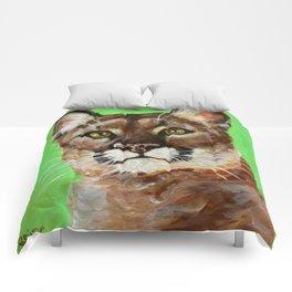 Reise Cougar Youthful Eyes Comforters