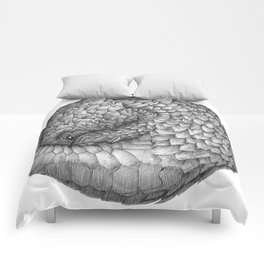 The Infinite Pangolin Comforters