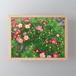 Flowers Blossom  #Society6 #decor #buyart Framed Mini Art Print
