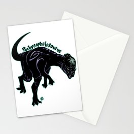 Pachycephalosaurus (Archosaurs Series) Stationery Cards