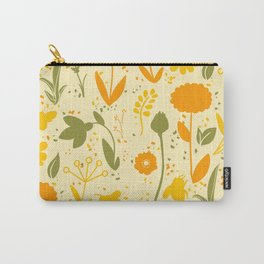 Bee Filled Field Carry-All Pouch