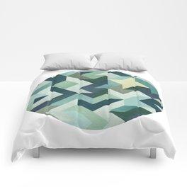 Circle Geometry Comforters