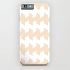 jaggered and staggered in linen Slim Case iPhone 6s
