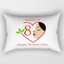 Happy womens day- she persisted gifts Rectangular Pillow