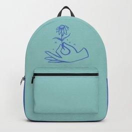 Springtime Magicx Blue Backpack