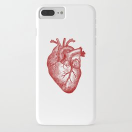 Vintage Heart Anatomy iPhone Case