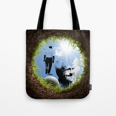 Hole in one Arnold! Tote Bag