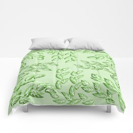 Forest Leaves Comforters