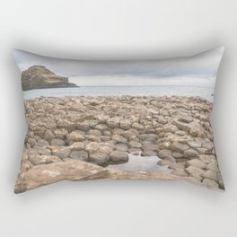 Giants Causeway in Ireland Rectangular Pillow