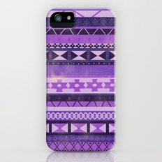 Native Spirit (Purple) iPhone (5, 5s) Slim Case