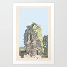 The Donnybrook Ruin Art Print
