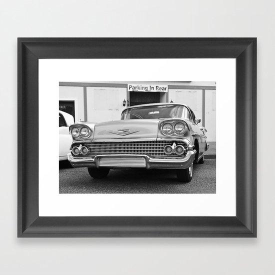 No parking Framed Art Print