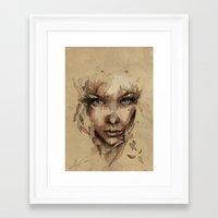 crystal Framed Art Prints featuring [Crystal] by Mario Alba