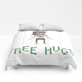 free hugs 3 Comforters