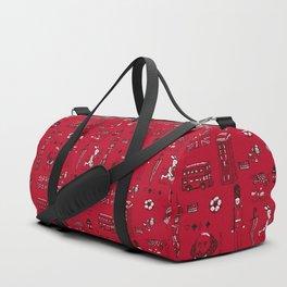 English pattern Duffle Bag