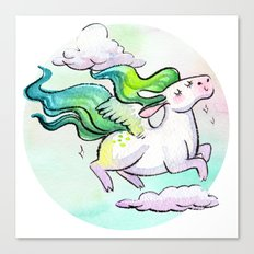 Chubby Pegasus Canvas Print