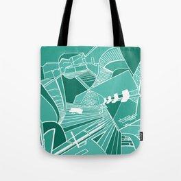 PARISIAN SUBWAY Tote Bag