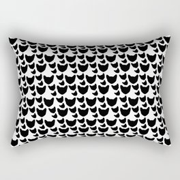 BX Feral Cat Care - Jackson's Face Pattern Rectangular Pillow