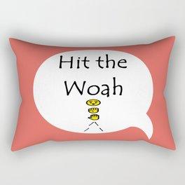 Woah C Rectangular Pillow