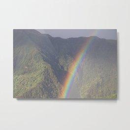 Himalayan Rainbow Metal Print