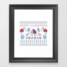 Merry Christmas!  Framed Art Print