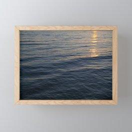 Sunset Waves, Take Two Framed Mini Art Print