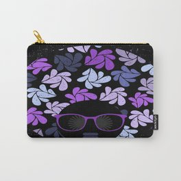 Afro Diva Purple Carry-All Pouch
