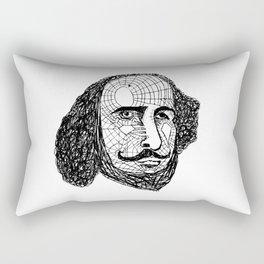 William Shakespeare Rectangular Pillow