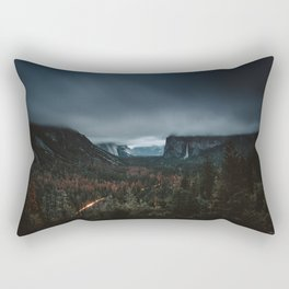 Moody Yosemite Valley - Tunnel View Rectangular Pillow