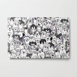 Original Sheepdogs On Watch Metal Print