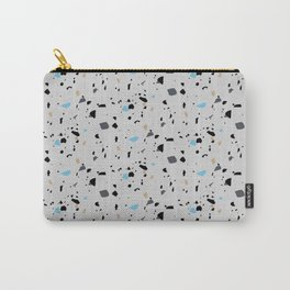 Terrazzo Surface Pattern Carry-All Pouch