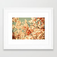black Framed Art Prints featuring Pink by Olivia Joy StClaire