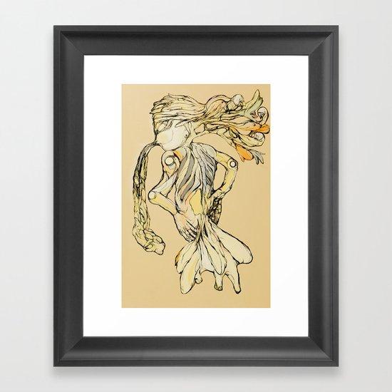 Organicism  Framed Art Print