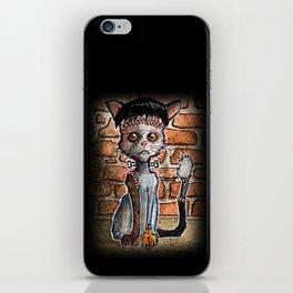 Franken Kitty iPhone Skin