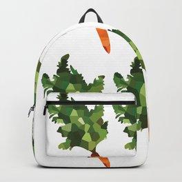 carrot pattern, fill, repeating, tiled | elegant Backpack
